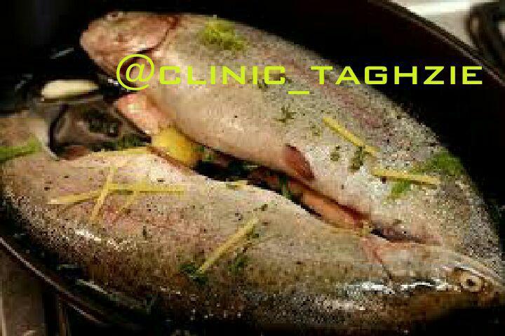 ماهی سرخ کرده رژیمی