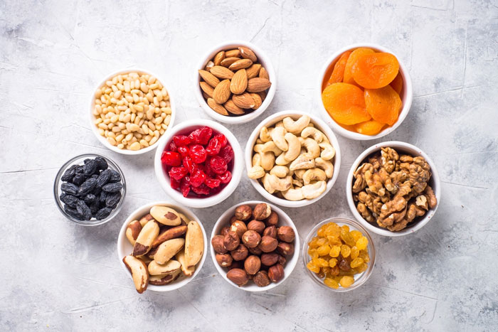 آیا می دانید میوه خشک و آجیل سبب کاهش وزن می شود؟